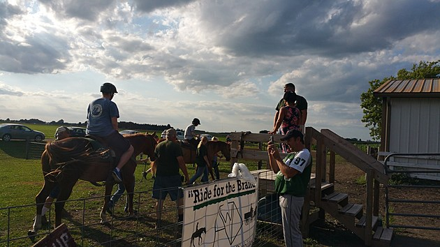 Ride for Brand horseback 2/Melissa Hall Townsquare Media